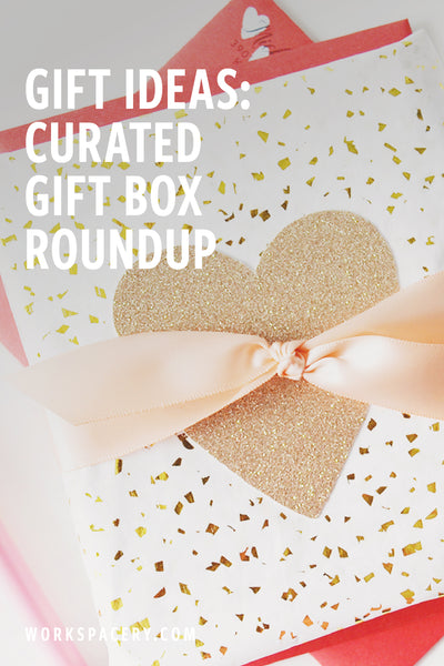 Gift Ideas: Curated Gift Box Roundup