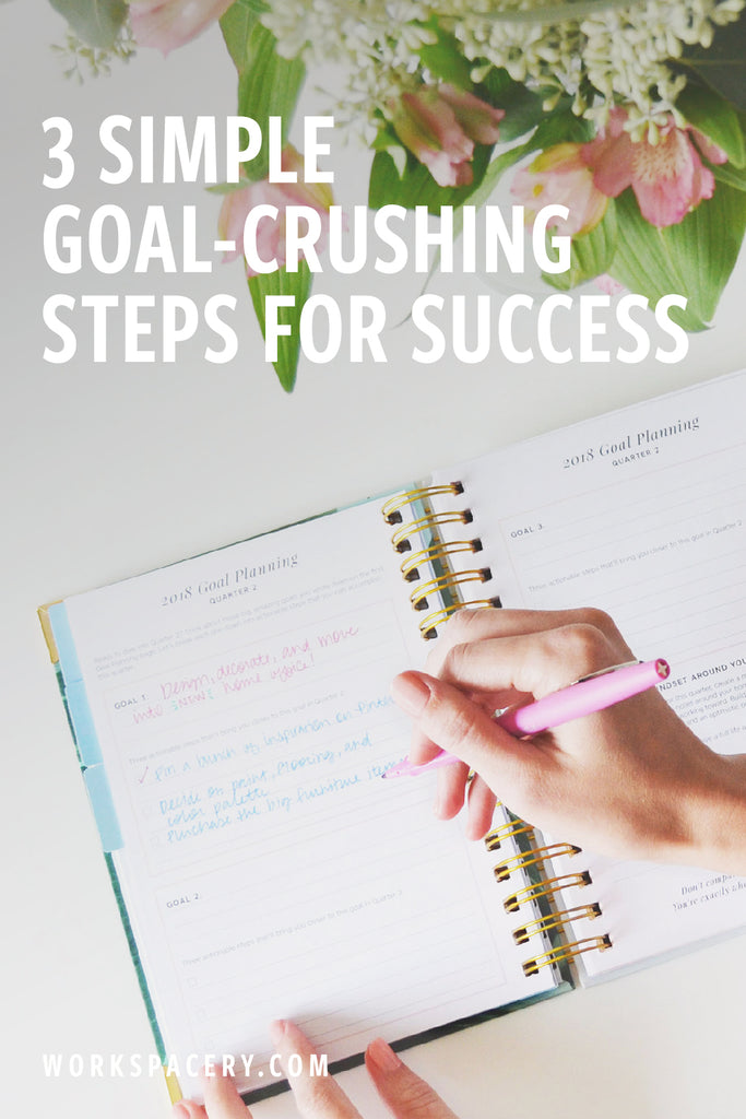 Three Simple Goal-Crushing Steps for Success