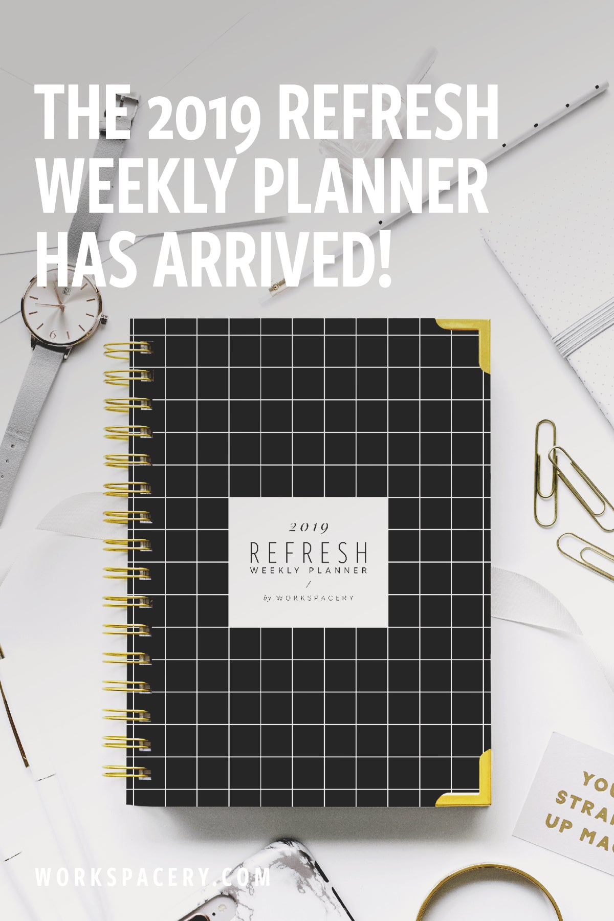 The 2019 Refresh Weekly Planner has Arrived