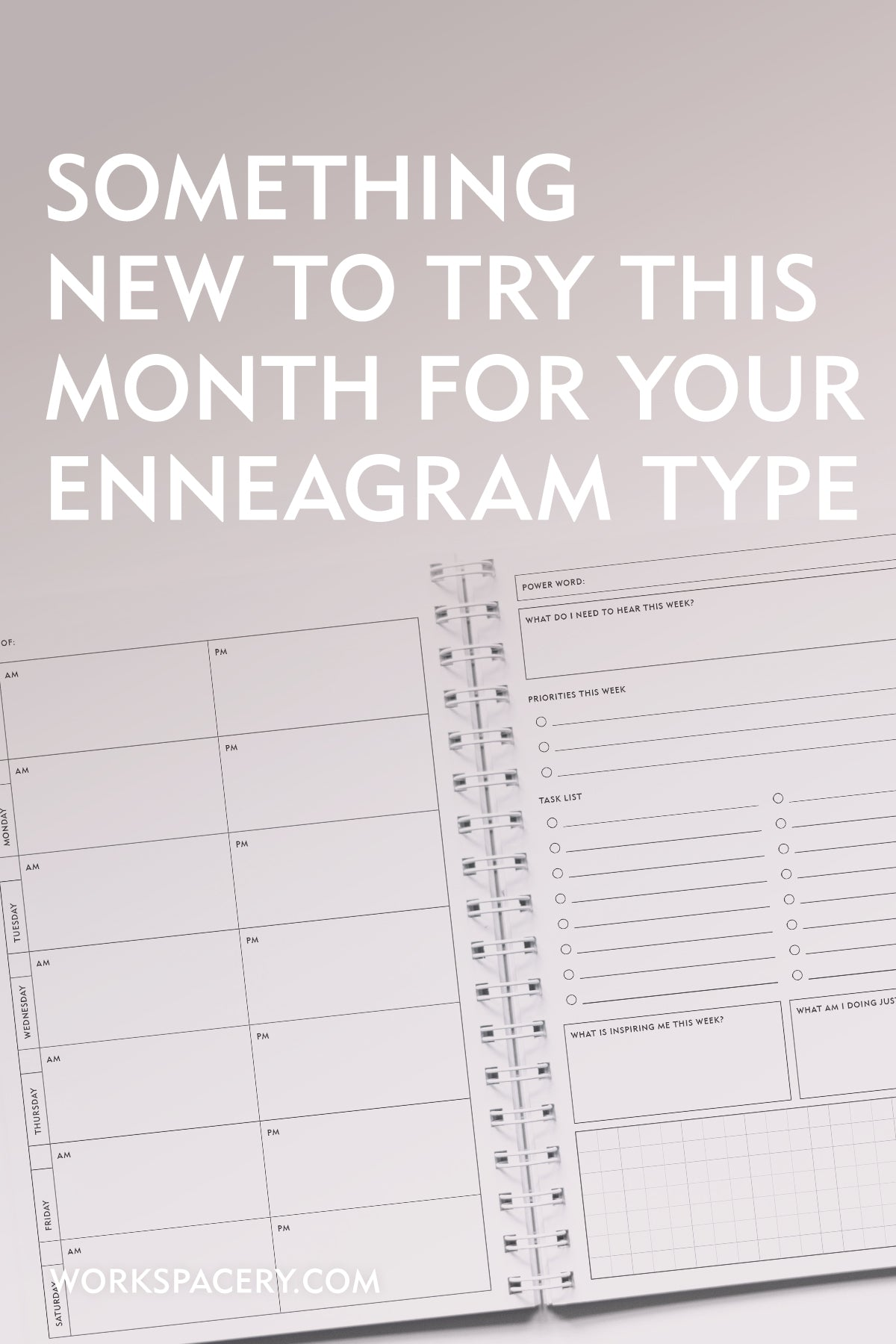 Something New to Try This Month for Your Enneagram Type