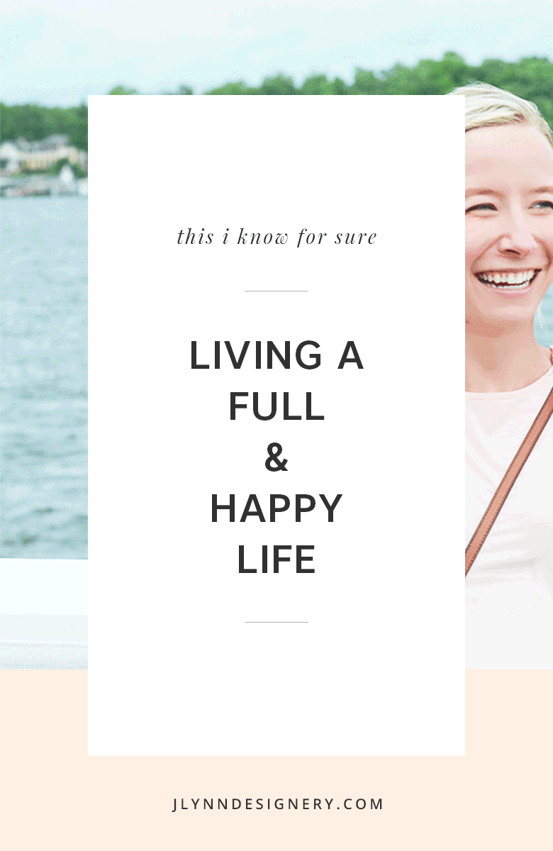 J.Lynn Designery | Living a Full & Happy Life