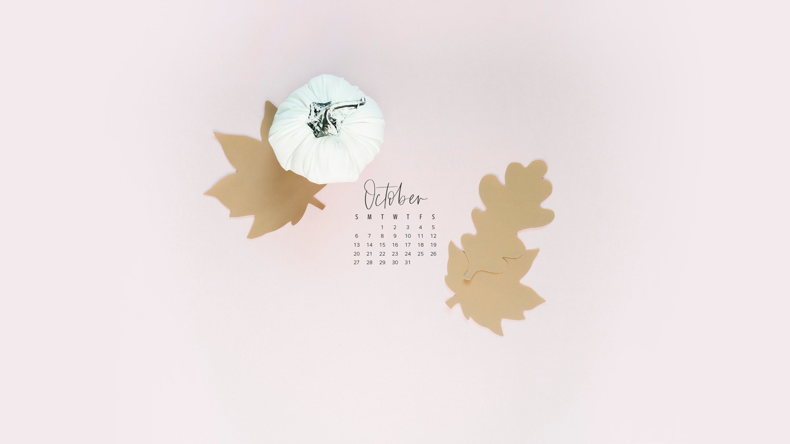 Workspacery October 2019 Calendar