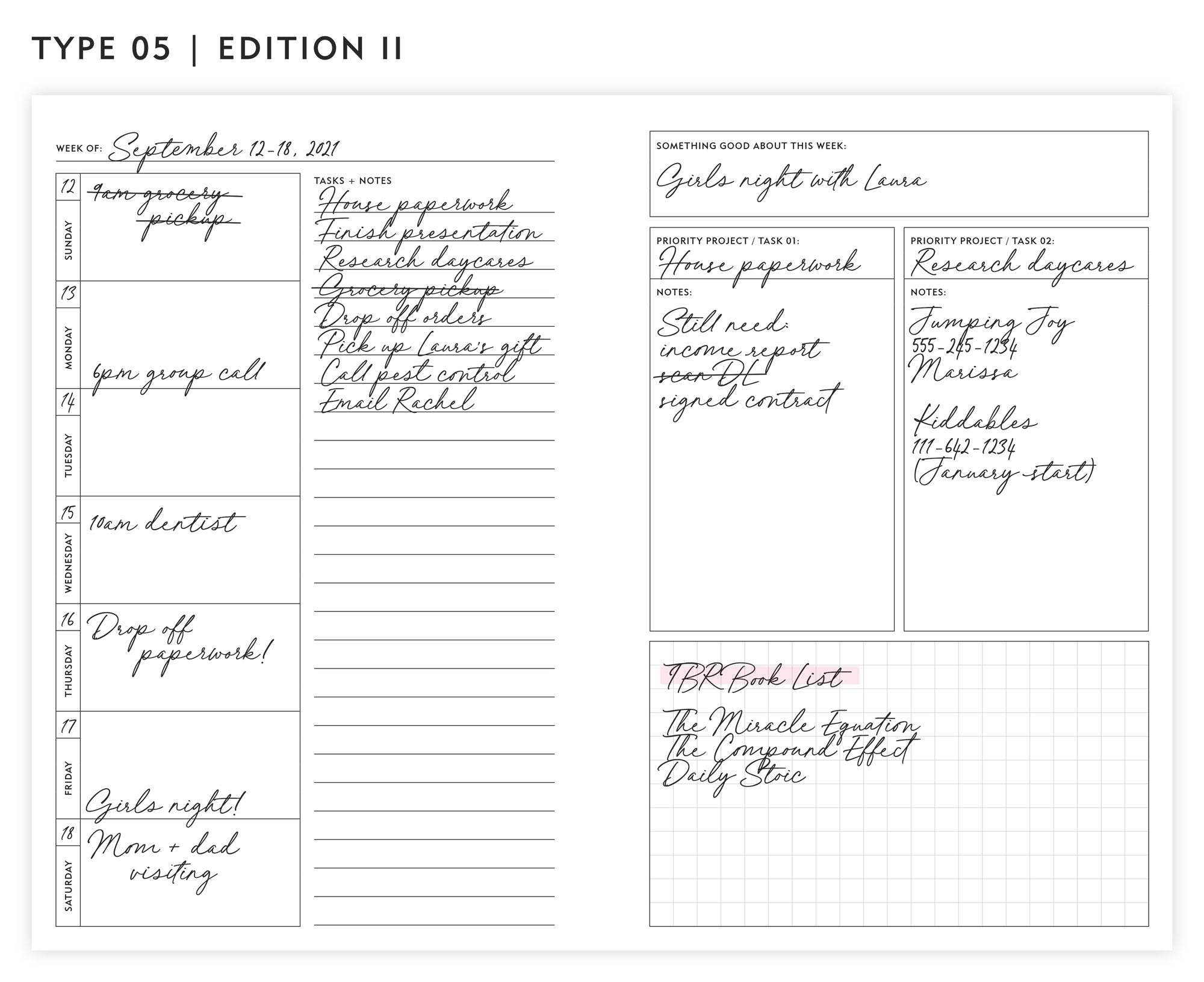 Guided Enneagram Planner Type 05   Edition II