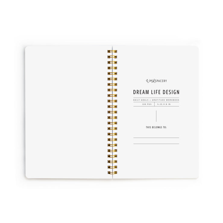 Dream Life Design Workbook - Ocean
