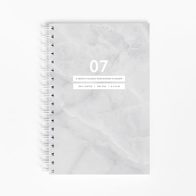 "<span style=""color: #b38d5b;"">PRE-ORDER ONLY:</span> Guided Enneagram Planner Type 07 [Edition II]"