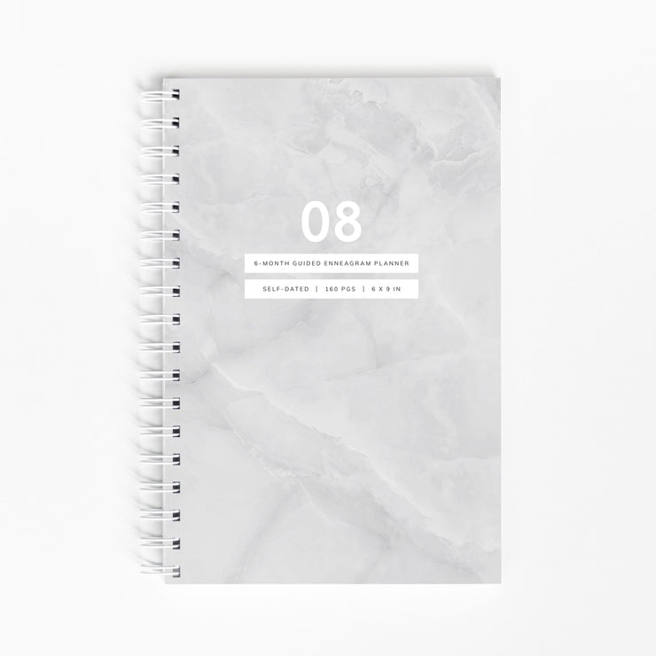 "<span style=""color: #b38d5b;"">PRE-ORDER ONLY:</span> Guided Enneagram Planner Type 08 [Edition II]"