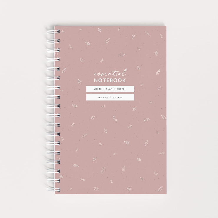 NEW! Essential Notebook - Botanical