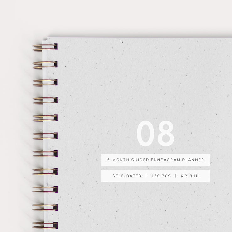 Guided Enneagram Planner Type 08 [Edition I]