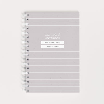 NEW! Essential Notebook - Stripe
