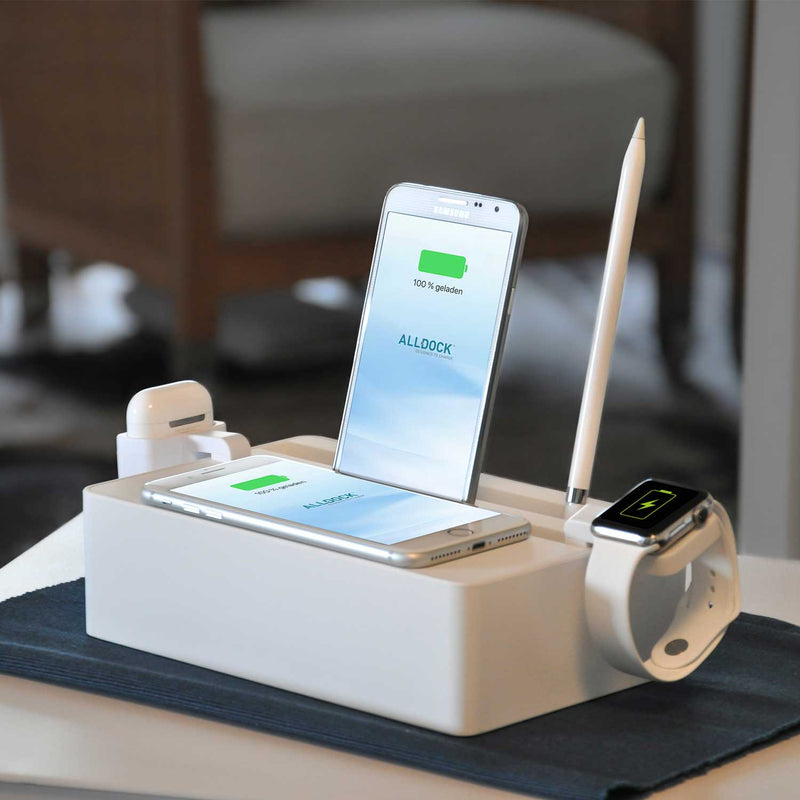 ALLDOCK Wireless Station - White