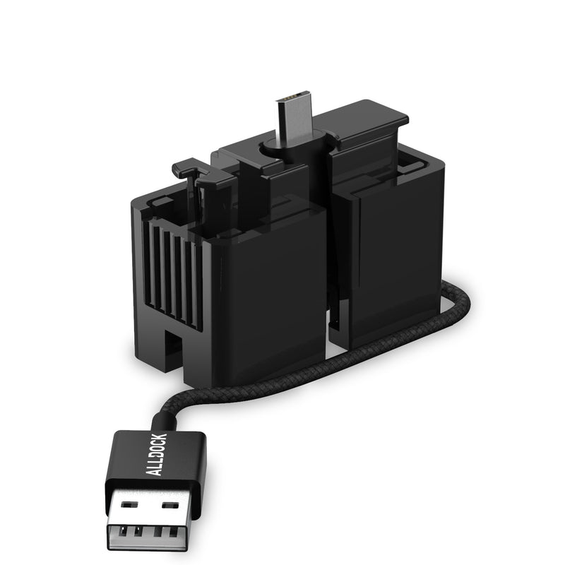 ALLDOCK Click-In Adapter with Micro-USB cable