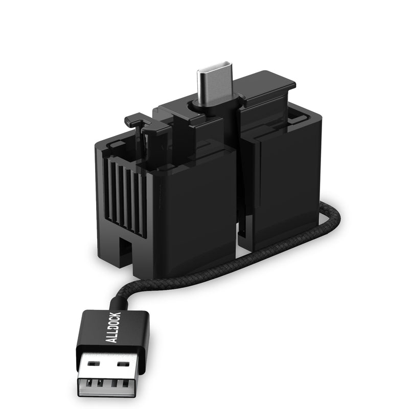 ALLDOCK Click-In Adapter with USB-C cable