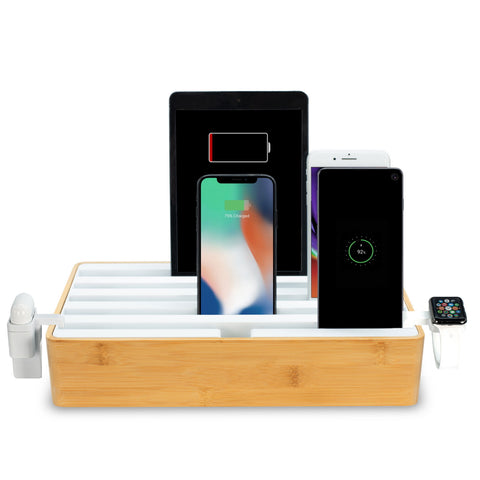 ALLDOCK Classic FAMILY Bamboo & White Package