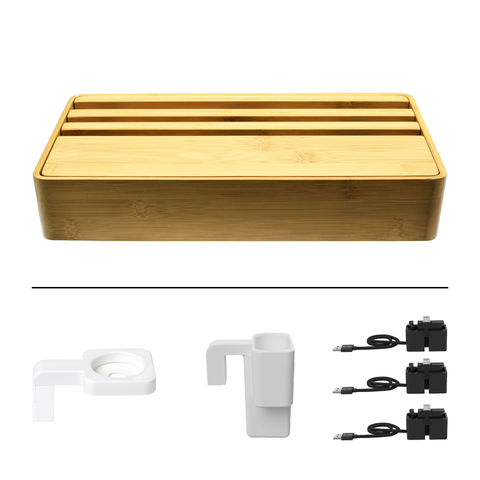 HybridX Wireless Large Bamboo Apple Package