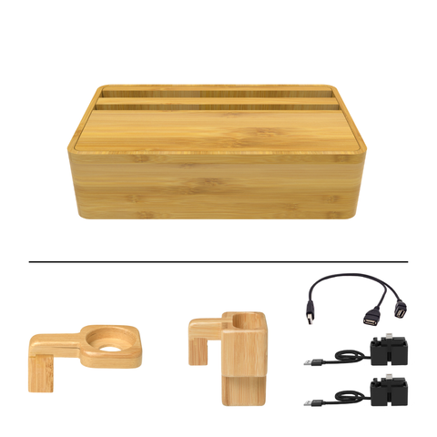 HybridX Compact Wireless Bamboo Apple Package