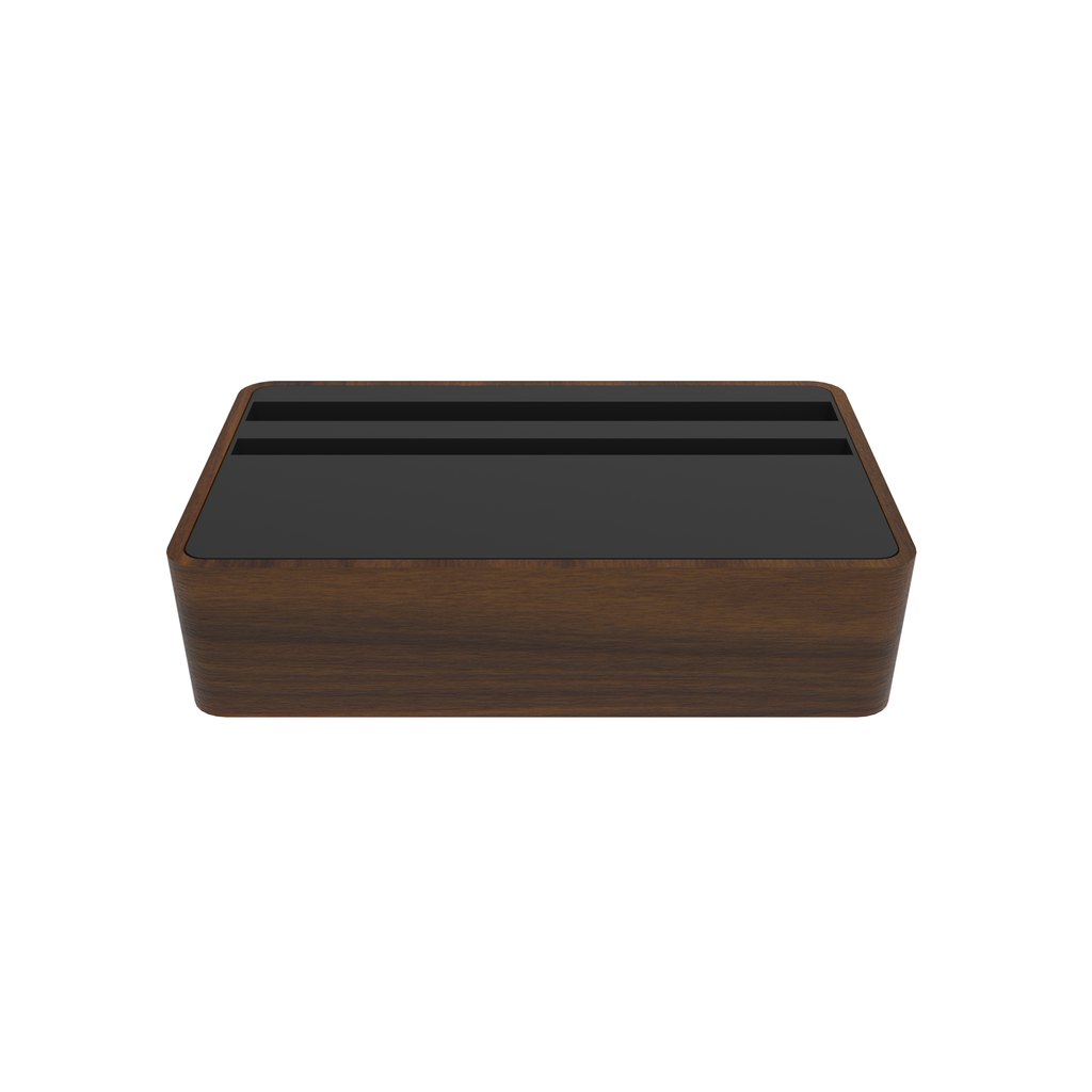 HybridX Wireless Compact Walnut & Black