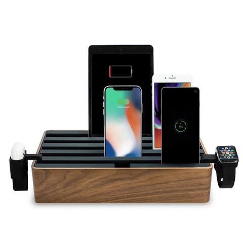 ALLDOCK Classic FAMILY Walnut & Black Package