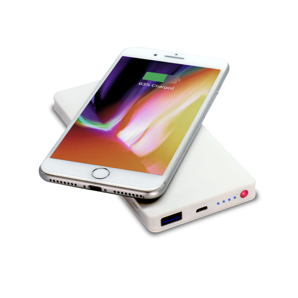 ALLDOCK Wireless Powerbank White