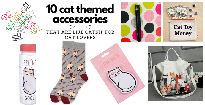 10 Cat Themed Accessories That Are Like Catnip For Cat Lovers