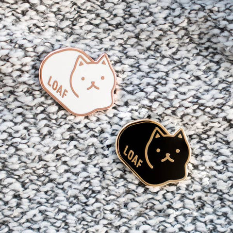 Loaf Cat Pin