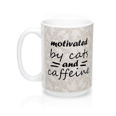Funny cat mug for cat lovers, perfect as a gift for a cat lover.