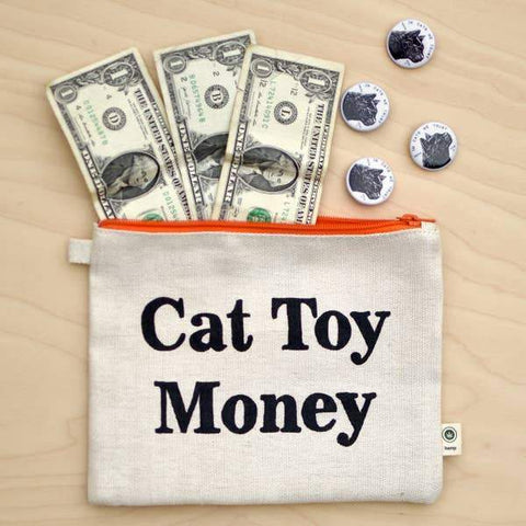 Cat Toy Money