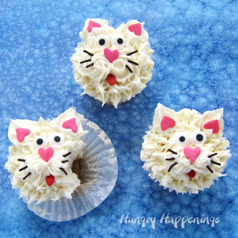 Cat Cupcakes by Beth from Hungry Happenings