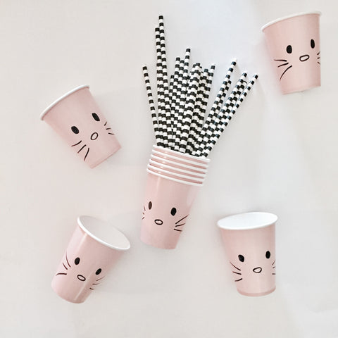 Cat Party Cups by Kelly Gene Life Blog