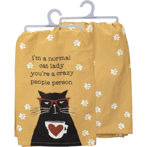 Normal Cat Lady Kitchen Towel
