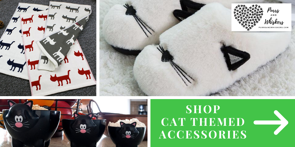 Shop Cat Themed Accessories and Gifts for Cat Lovers