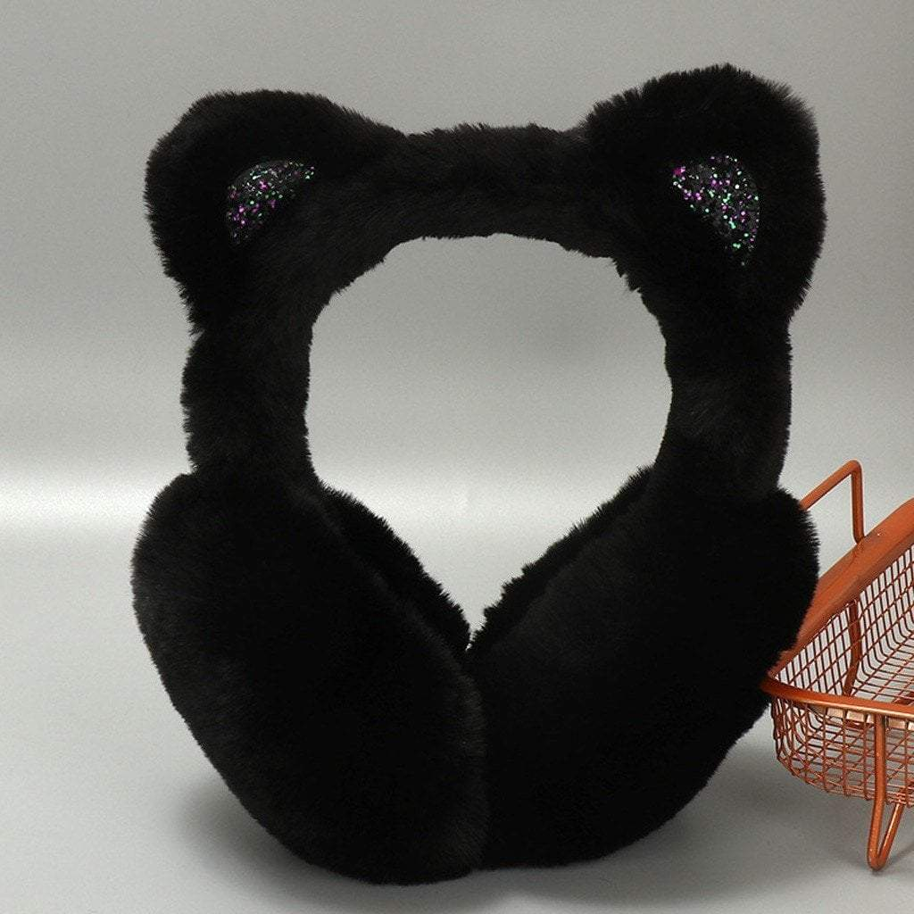Cute Cat Ear Earmuffs for Women
