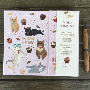 Cute Cat Daily Planner for Cat Lovers