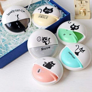 These cat headphones come in sweet pastel colors and in a box for extra convenience.