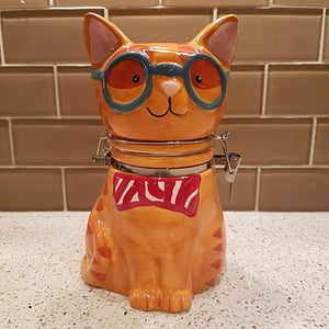 Cat Themed Gifts, Cat Cookie Jar for Cat Lovers