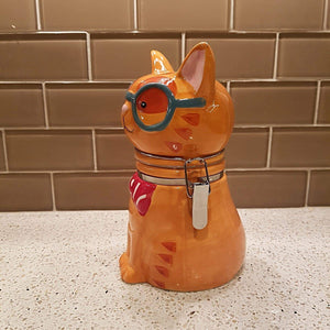 Cat Kitchen Accessories, Cat Treats Jar