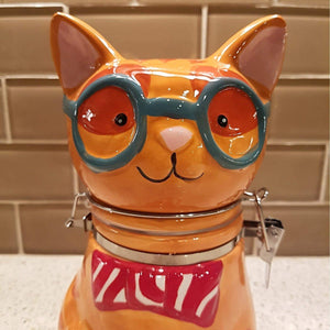 Funny Cat Gifts for Cat Lovers, Cat Shaped Cookie Jar