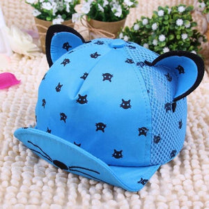 Cat Clothes for Kids, Cat Ears Cartoon Baseball Hat