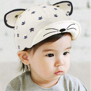 Cat Themed Clothing, Cat Ears Cartoon Baseball Hat