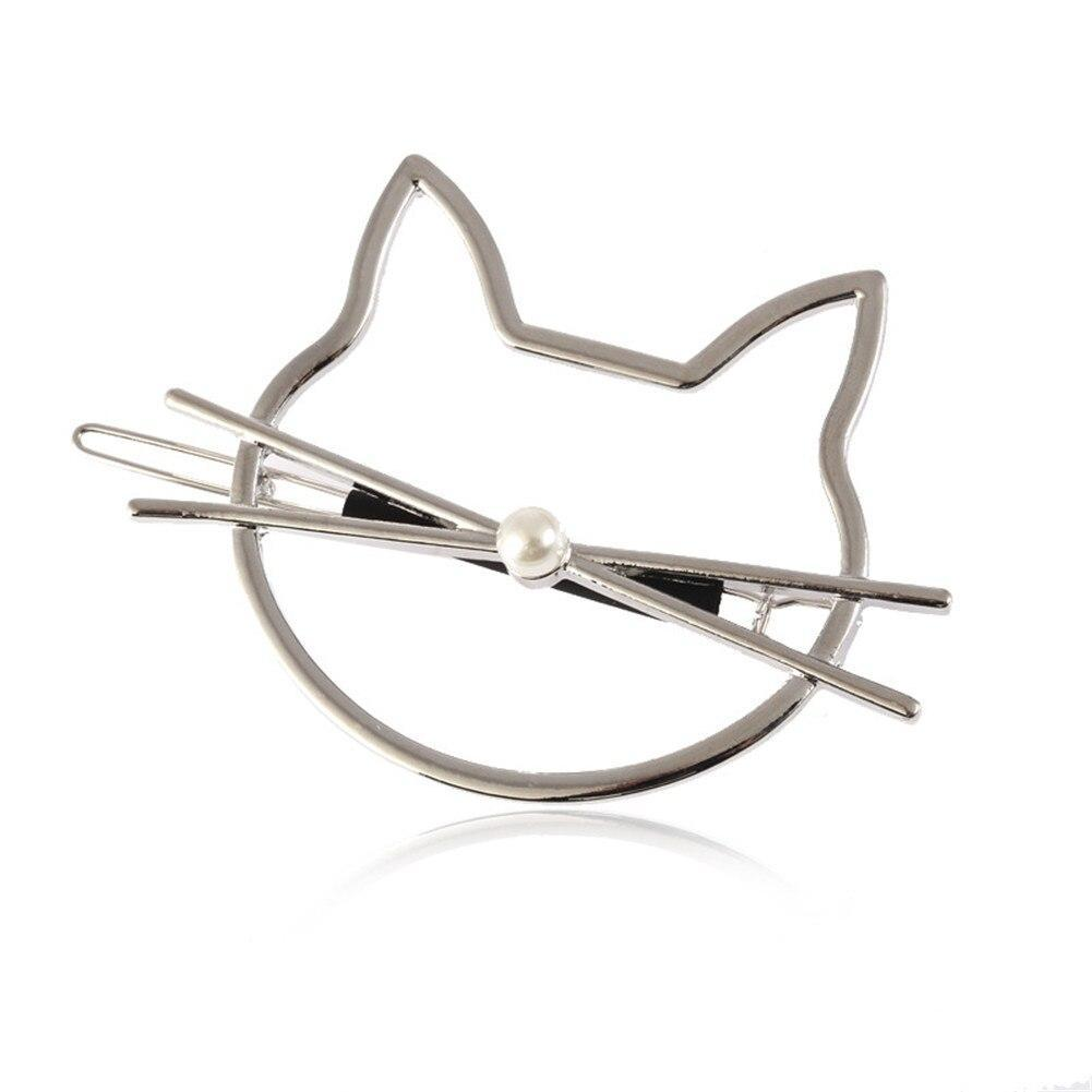 Cat Gifts for Her, Cat Hair Accessories, Cute Cat Hair Clip