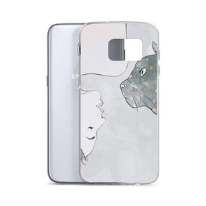 For an everyday cat themed accessory you'll love showing off, pick this elegant Cat Harmony phone case.