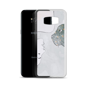 Refresh your collection of cat themed accessories with this one of a kind Cat Harmony Samsung phone case.