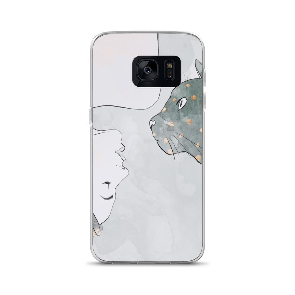 This cat phone case is a great addition to your collection of cool cat things.