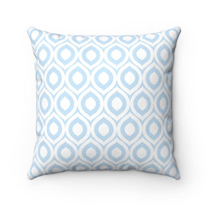 The light blue and white argyle pattern make this pillow not only a fun cat decoration accent, but also easy to match with your home decor.