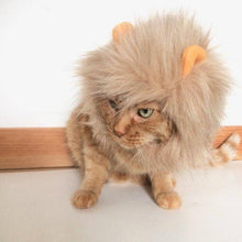 Load image into Gallery viewer, Halloween Costumes for Cats, Cat Lion Costume