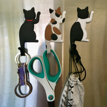 Load image into Gallery viewer, Cat Magnets with Tails Used As Hooks