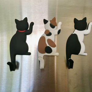 Unusual Cat Related Gifts, Set of 3 Cat Magnets for Cat Lovers