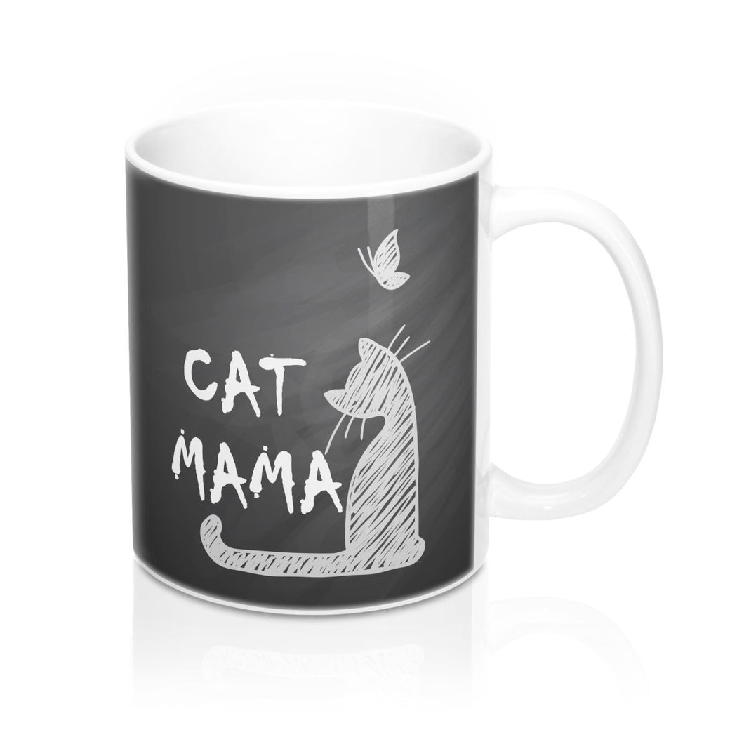 This cat mom mug is one of our favorite cat lady gifts.