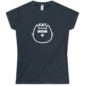 Pick up this cat mom t-shirt for a fun and sweet addition to your crazy cat lady clothing.