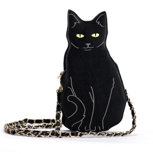 Black Cat Shaped Bag for Women Who Love Cats