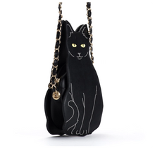 Load image into Gallery viewer, Gifts for Crazy Cat Ladies, Cat Shaped Bag for Her